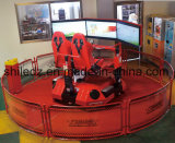 Motion Racing Car Simulator Amusment juego coche