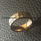 Ring van uitstekende kwaliteit van de Vinger van de Juwelen van het Roestvrij staal Shell Ingelegde (SSR2693)