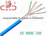 Passage de flet de ftp CAT6/câble remplis d'acoustique de connecteur de câble de transmission de câble de caractéristiques câble d'ordinateur