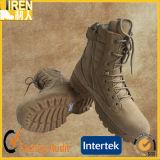 Gaine de désert tactique militaire bon marché de chaussure de sûreté de Mens de cuir de vache à suède