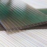 Doppelwand-Höhlung-Polycarbonat-Blatt für Aufbau-Baumaterial