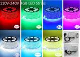 RGB LED de luz RF controlador remoto para el cambio de color de Gaza