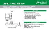 Pont redresseur de la série ABS2~ABS10 pour l'éclairage de DEL