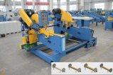 El ajuste doble de los extremos de la carpintería consideró la máquina