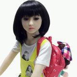 Boneca plástica adulta lisa do sexo da boneca 128cm do sexo da caixa