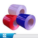 Rodillo de acero prepintado del color de la bobina de la hoja de metal de la capa del color de las bobinas de PPGI de la fábrica de China