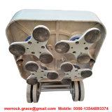 Aluminium Alloy Die-Casts Plaque de base 12 tête 15HP Béton Grinder