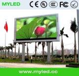 Écran d'affichage LED vidéo en plein air / Panneau pour publicité China Factory