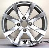 Roda de prata ou customizável da liga do carro 14 polegadas