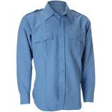 Безопасности Workwear полиций охранника Mens рубашка равномерной защитная