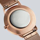 Nuevo diseño de moda de acero inoxidable señoras reloj de pulsera de cuarzo 71330