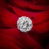 Pearl Bridal Rhinestone Brooch Centerpiece Wedding Bouquet Jóias
