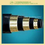 Flexible hydraulique de câble tressé de mine de charbon (602-3B-5/16)