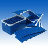 scheda/contenitore di polipropilene pp Coroplastc di 3-5mm per la separazione e la protezione