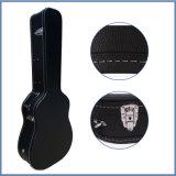 Schwarzer beweglicher hölzerner Gitarren-Kasten für Verkauf