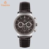Reloj de lujo de cronógrafo para hombre en venta Reloj de pulsera de cuarzo de acero inoxidable para Men72409