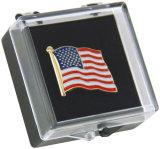 Meilleure vente en gros de qualité Custom USA Metal Lapel Pin