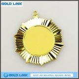 Médaille personnalisée en or à vendre à chaud Médaille de souvenir Médaille de l'Armée de terre Badge