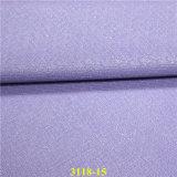 Cuero material tejido aplicado con brocha del Faux de la PU del zapato del grano