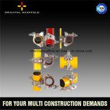 Los sistemas de andamios de acero durable el acoplador de tubo