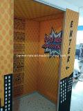 Blocco per grafici di alluminio della bandiera della casella del tessuto facile del cambiamento (SS-FB-21)