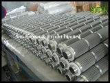 Água dos elementos do engranzamento de fio 316 do aço inoxidável/filtro de petróleo
