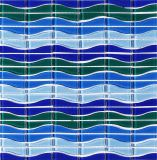 Blue Color Swimming Pool Matériel de construction en mosaïque de verre