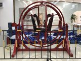 O anel do espaço do divertimento monta o giroscópio 3D humano para o adulto