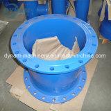 Отливка песка отливки утюга штуцеров трубы клапана CNC подвергая механической обработке
