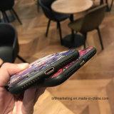 3D接触高品質柔らかいTPUの色刷の背部iPhoneのための移動式携帯電話の箱