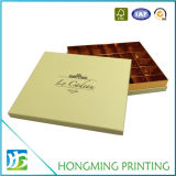 Logo Embossing Paperboard Wedding Caixa de presente de chocolate