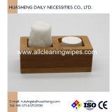 Сжатый полотенца держатели бамбук лотки лотки пластика черного цвета