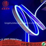 220V LED Blue Double Lighting View Mini corda flexível de néon para Buliding Decoração para casa 100m / Roll