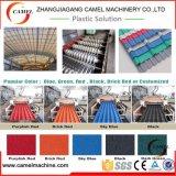 Le PVC de plastique a ridé/la chaîne de production de tuile toiture d'onde/feuille/plaque