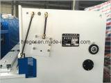 Ruptura do giro hidráulico e máquina de corte