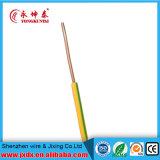 Fio elétrico/elétrico do PVC com condutor de cobre