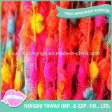 Lã de algodão do circuito de alta resistência de tecelagem de fio de fantasia