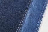 インディゴヤーンは綿の伸張のニットのデニムファブリックを染めた