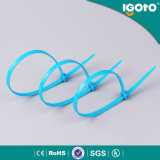 Attache de câble en nylon bleu pour fils