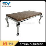 Mobiliário de chineses a tabela de chá em mármore Mesa Console