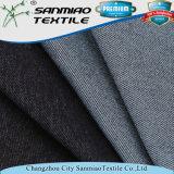 Хлопок 5%Spandex полиэфира 65% Twill 30% индига связанную ткань джинсовой ткани для одежд