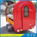 Ys Made in China Mobile Food Cart Trailer Vente