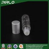 rolo de vidro geado ou desobstruído de 10ml no frasco com o tampão de vidro do rolo e do metal