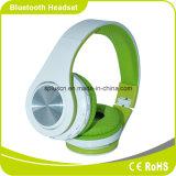 De groene Stereo Draadloze V3.0 Hoofdtelefoon van EDR met Navulbare Batterij