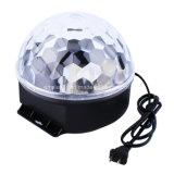 Дешевый этап диско шарика Rgbywp СИД СИД кристаллический волшебный освещает управление звука основного этапа