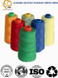 De geverfte en Hoge Naaiende Draad 20s/2 van de Polyester van de Hardnekkigheid in Verschillende Kleuren