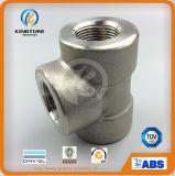 Té à haute pression d'acier inoxydable de té d'égale de soudure de plot d'OEM (KT0524)