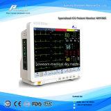 """12.1 """", """" de Geduldige Monitor van het Scherm ICU van Aanraking 15.1 (Ce, FDA goedkeuring)"""