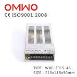 Wxe-201s-48 Hotsale Constant 201W Alimentation de sortie unique Interrupteur CA vers DC SMPS