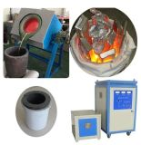 Печь машины топления индукции высокой эффективности малая серебряная плавя